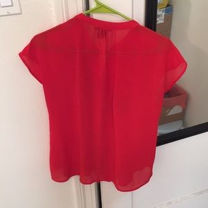 Papermoon Tops - Papermoon Red Top